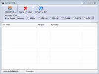 Free Download AVI to 3GP Video Converter