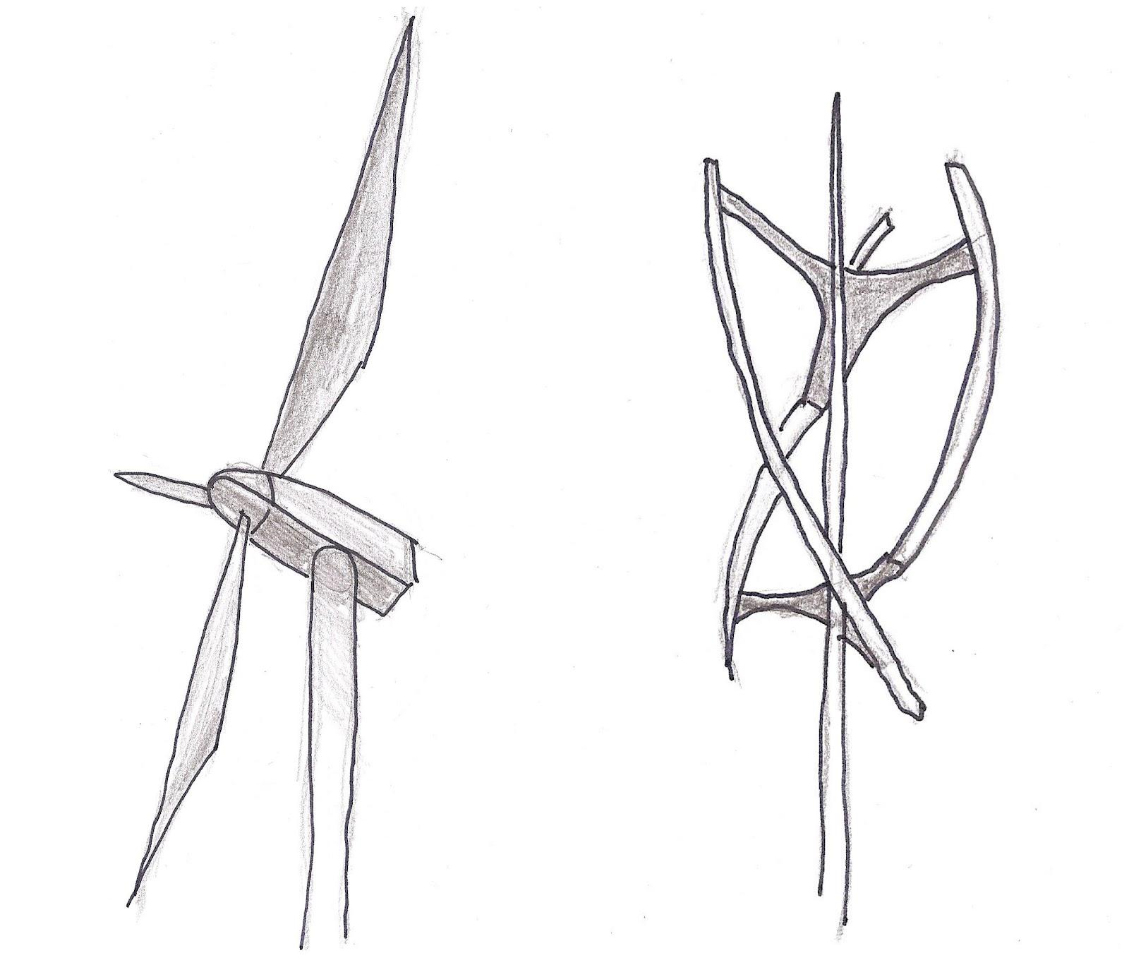 wind turbine sketch related keywords