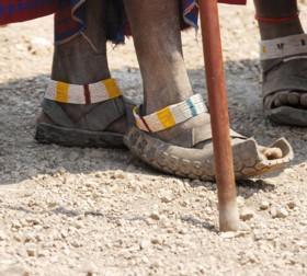 Zapatos de Masai