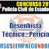 Concurso PC-SP 2014 | Apostila Desenhista Técnico - Pericial