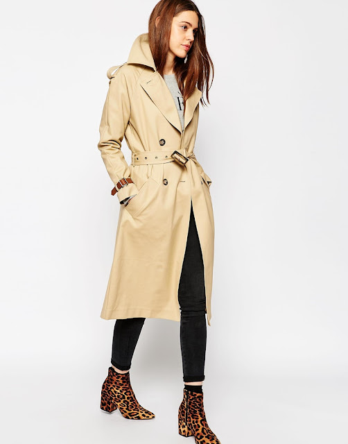 trench coat with strap on wrist, mac leather strap on cuff,