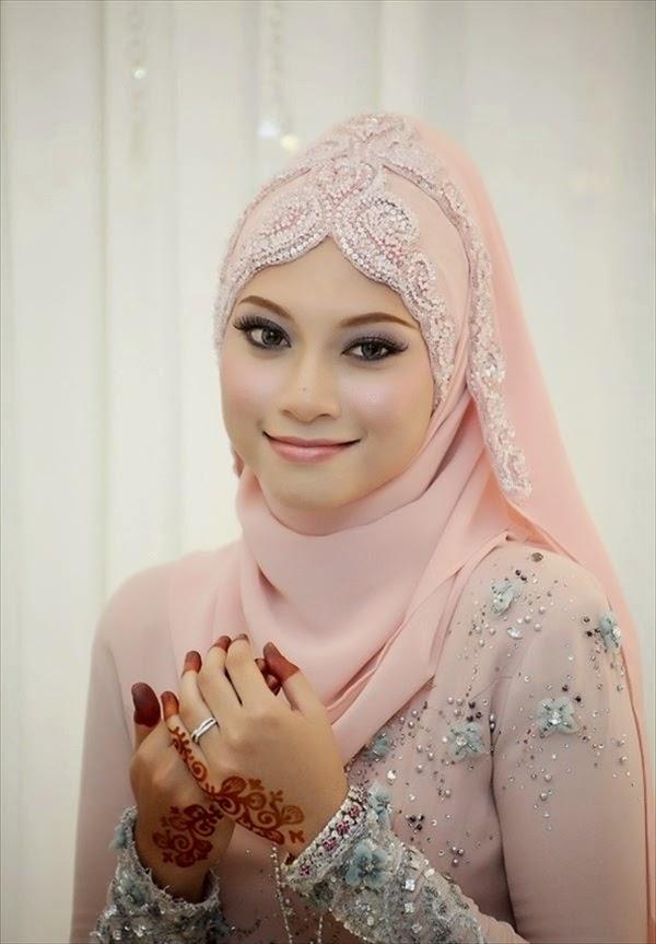 Wedding Hijab Styles