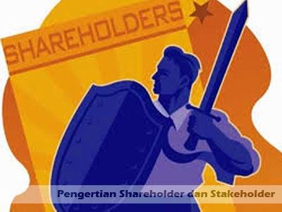 pengertian shareholder stakeholder adalah