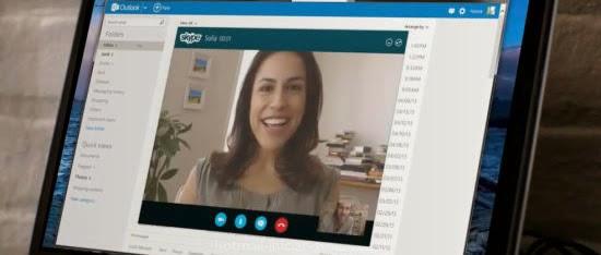 Skype se integra en Outlook