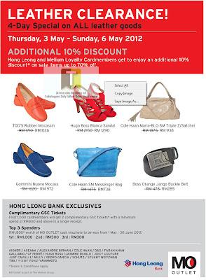 MO Outlet Leather Clearance Sale