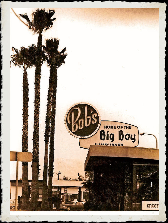 When we were home bob 39 s big boy west covina 1976 for Big bob s carpet