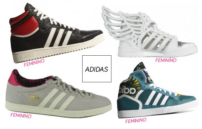 Tênis Adidas Femininos  Um mais lindo do que o outro 4e46a90efee9b