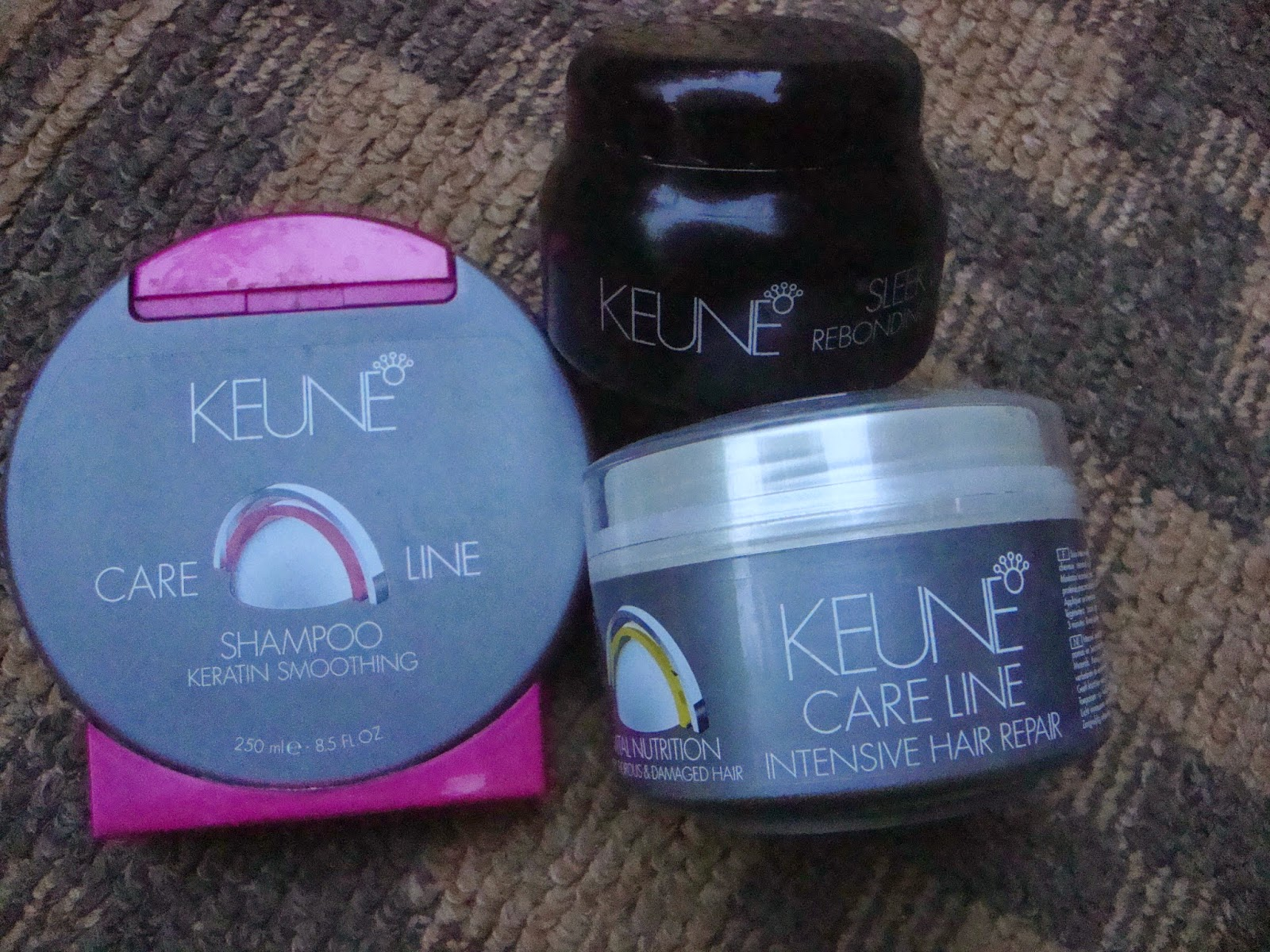 Keune Hair Care Range