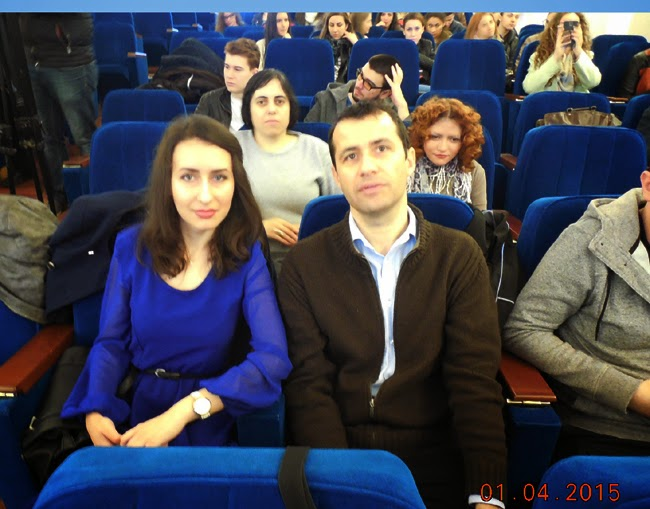 Alina Vaduva si Daniel Botea