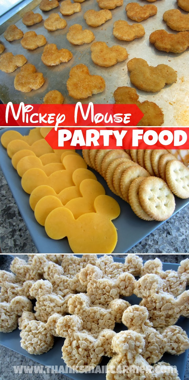Mickey Mouse party foods