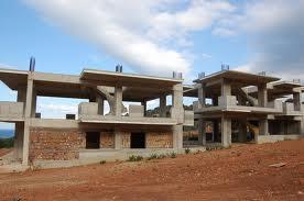Τέλος η οικοδομική δραστηριότητα στο Μοριά...