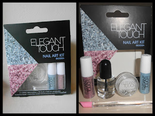 my opinion and more elegant touch nail art kit in iridessa
