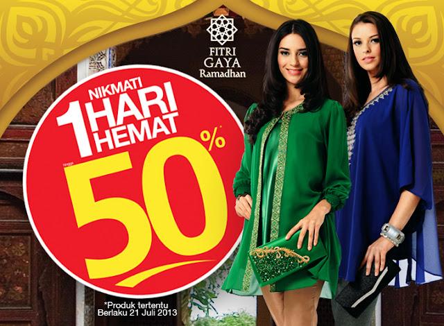 Promo Harian Matahari Terbaru Hemat 50% Berlaku 21 Juli 2013