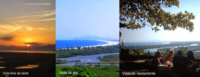 Restaurante Point de Grumari, esta entre os melhores do Rio. A vista do local não tem preço.