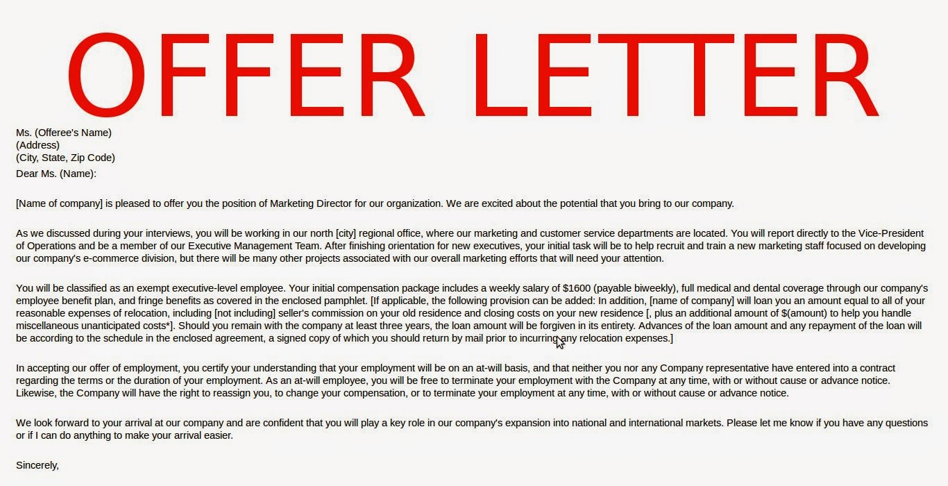 May 2015 samples business letters