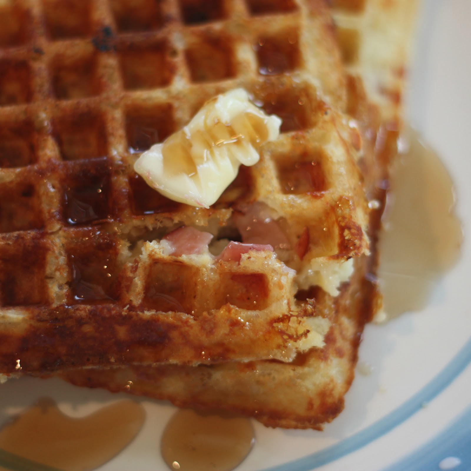 Clawson Live: Ham and Cheese Waffles