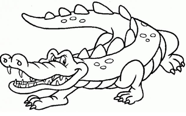 Imagenes infantiles para colorear de animales reptiles - Imagui