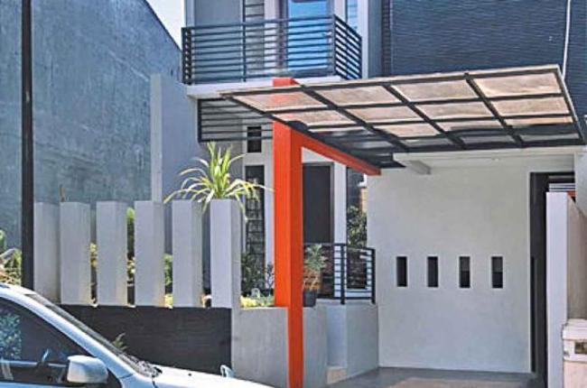 inspirasi interior dan eksterior rumah desain carport