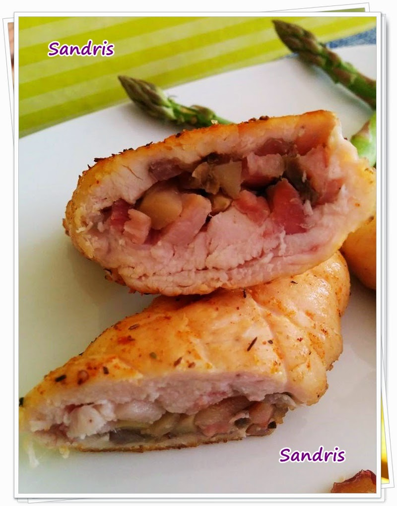 Pechugas de pollo al horno en salsa - Receta Petitchef