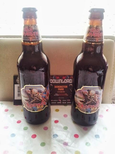 Iron Maiden Lager Bottles Festival tickets