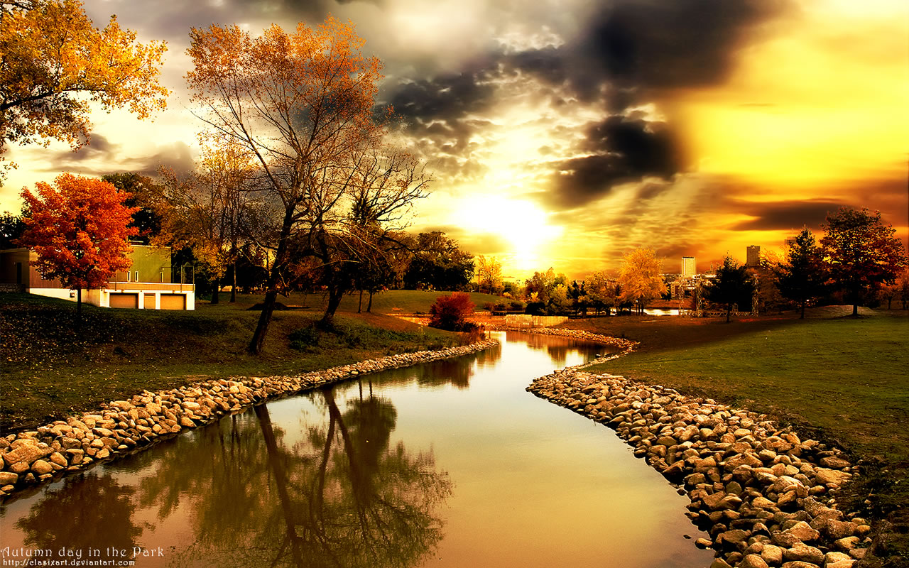 Autumn Nature HD Wallpapers 2012