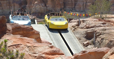Radiator Springs Racers hill