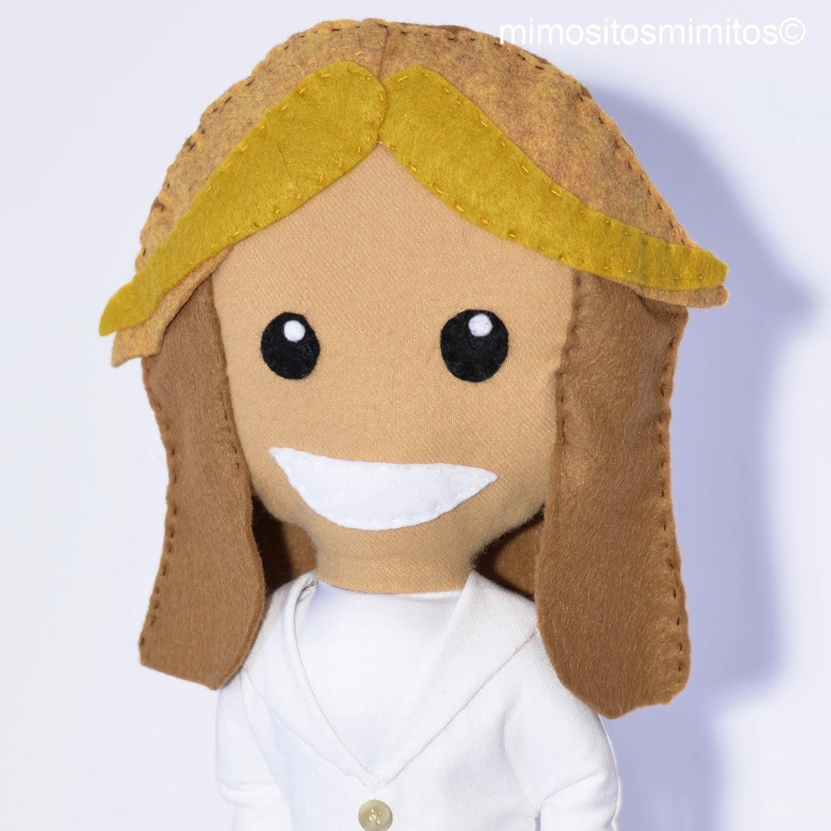 toñi moreno TVE programa entre todos muñeco personalizado