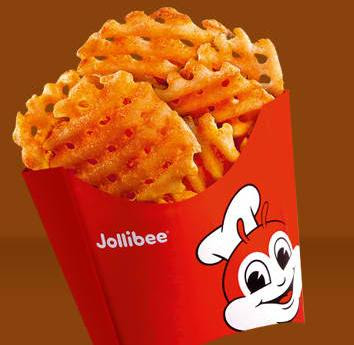 Crisscut Fries on Jollibee menu