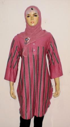 Grosir Baju Muslim Murah Online Tanah Abang: Kaos Murah BKM4410B