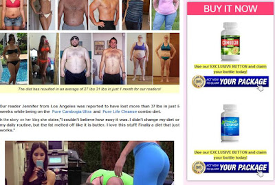 Pure Cambogia Ultra And Pure Life Cleanse Fraud