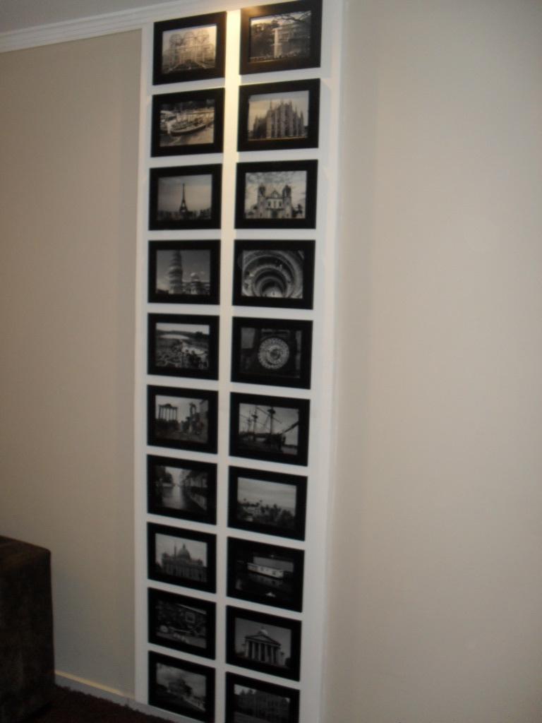 E se esta casa fosse minha superdica painel de fotos for Mural de isopor e eva