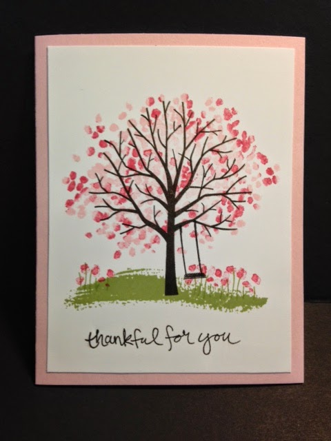 My Creative Corner A Sheltering Tree Thank You Card