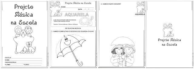 Caderno Projeto  Música na Escola Educação Infantil