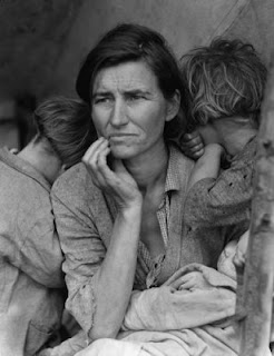 uncopyrighted photo of woman in poverty