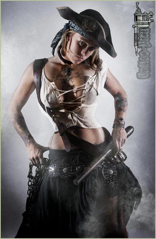 FOTOGRAFIAS DE TATUAJES PARA CHICOS Y CHICAS Chica_pirata