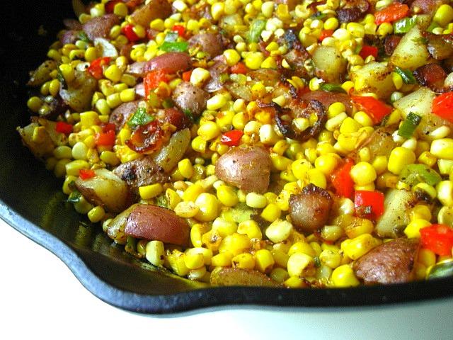 ... bacon kettle corn bacon corn hash recept yummly bacon and corn hash