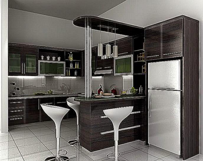 Tips Membuat Agar Dapur Rumah Minimalis Harum  Gambar dan Foto