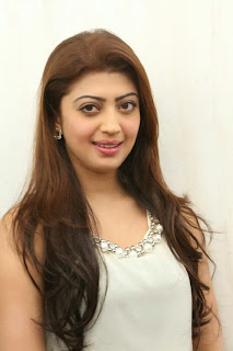 Actress Pranitha Pictures in White Dress at Homeo Trend Super Speciality Hospital Launch 0013