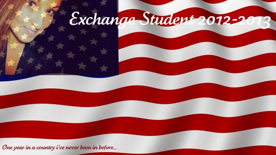 Exchange student 2012-2013