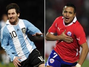 Argentina vs Chile en vivo, eliminatorias mundial Brasil 2014 online,