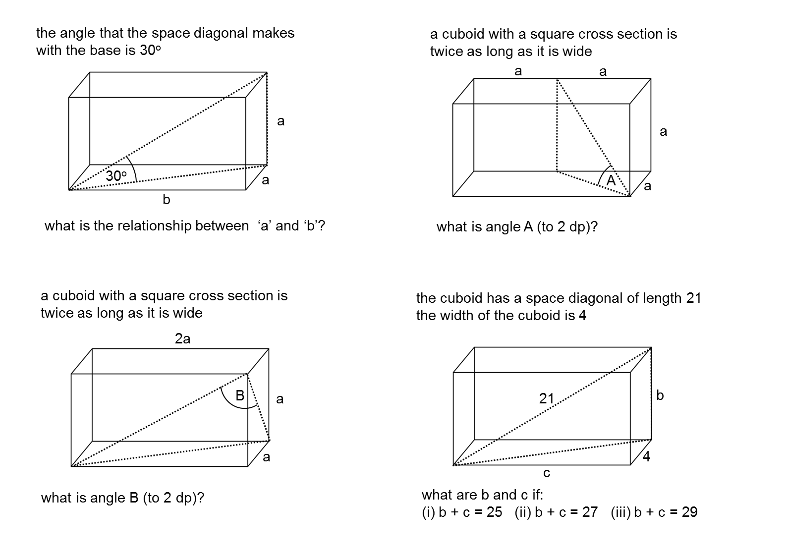 MEDIAN Don Steward mathematics teaching: 3D trigonometry