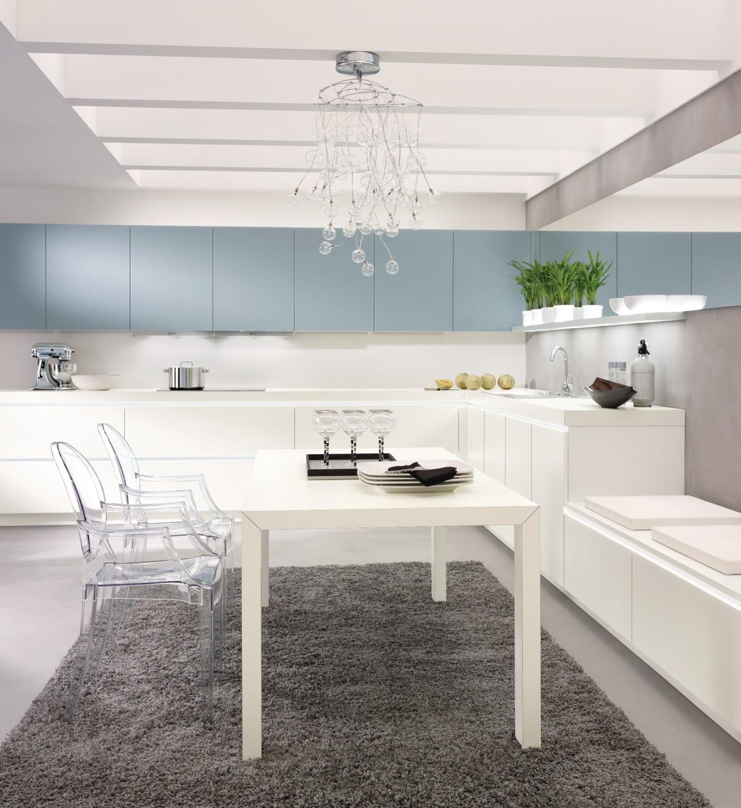 Cuisine design pur e for Cuisine epuree blanche