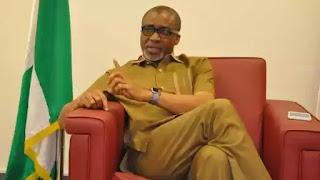 Chaos In Senate Chambers As Enyinnaya Abaribe Calls Buhari 'Incompetent'