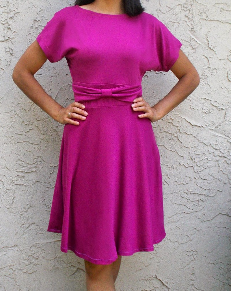 simple pattern for comfortable dress
