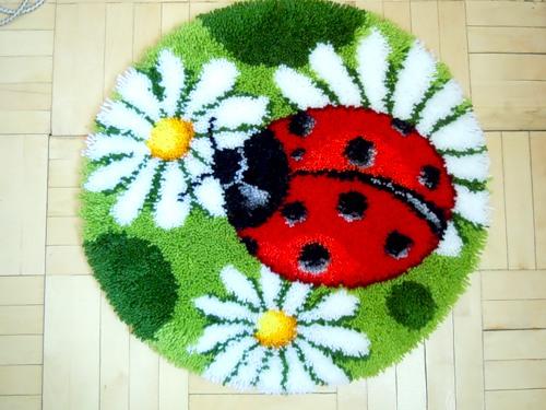 коврики в технике узелкового плетения
