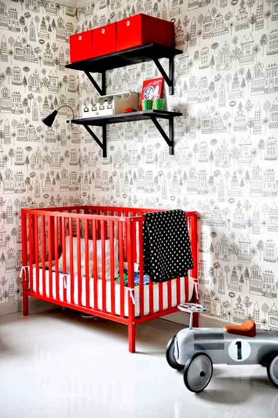 ideas para decorar con rojo