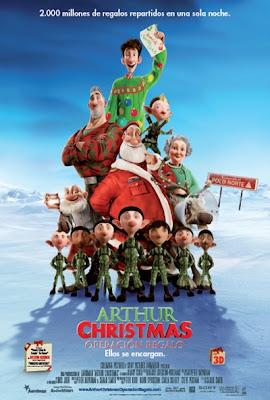 arthur christmas 11814 Arthur Christmas: Operación Regalo (2011) Español Latino