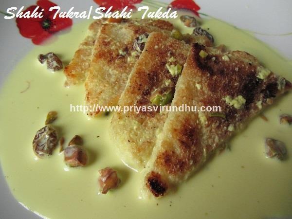 how to make shahi tukda with condensed milk