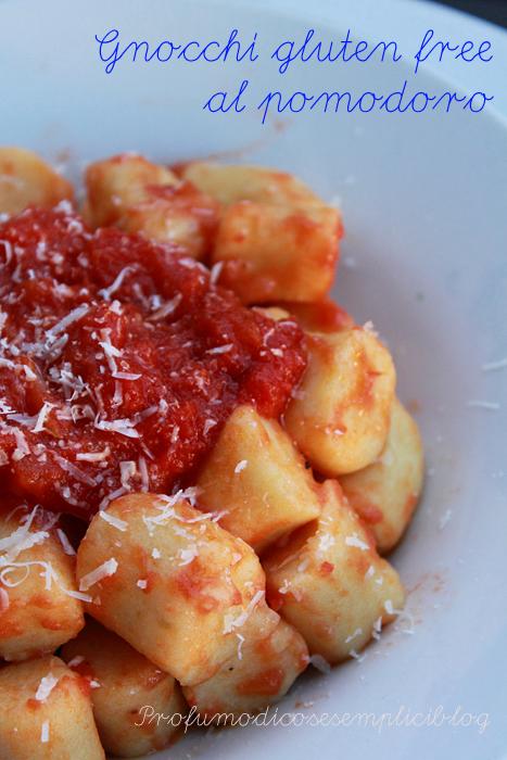 gnocchi di patate gluten free al pomodoro