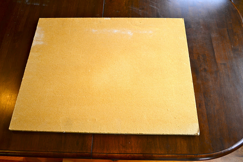 First lady of the house linen pin board for Linen cork board